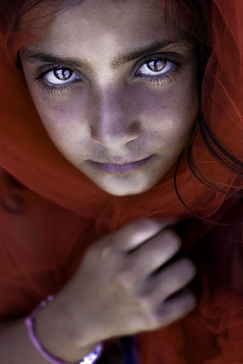 Portrait of Young Girl - India