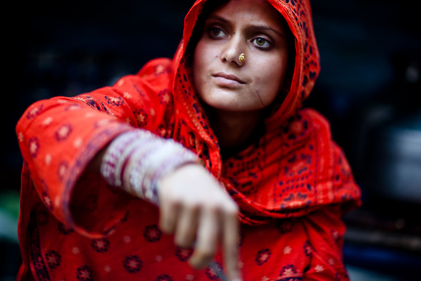 Young Lady - India