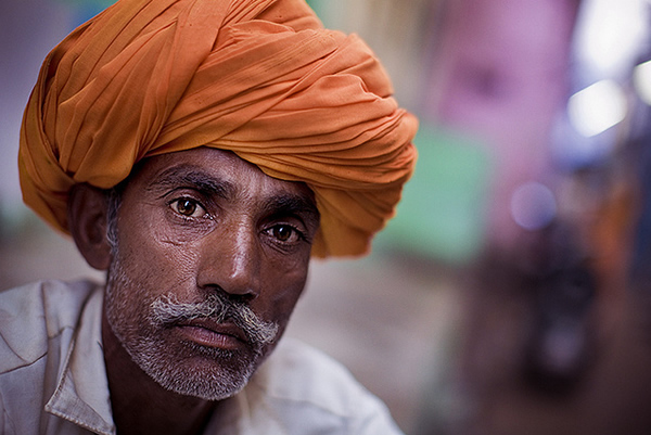 Orange Turban-Rajasthan-India