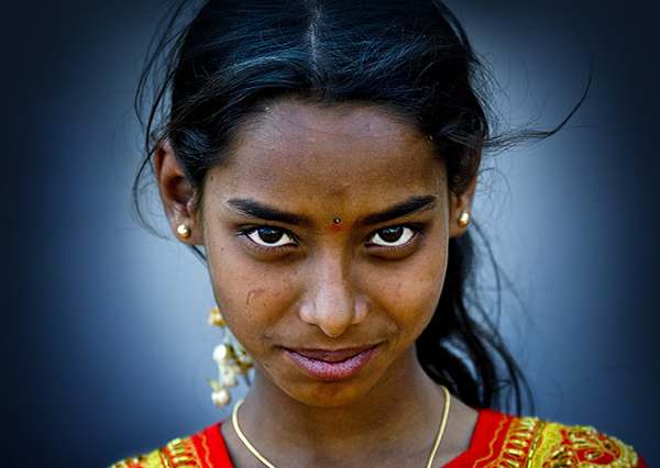 Beautiful Girl - Mysore, Karnataka, India