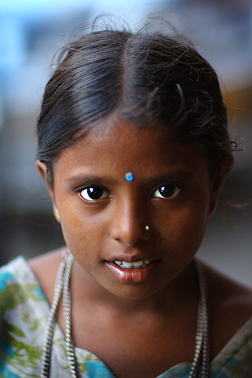 Young girl in Jaipur, India