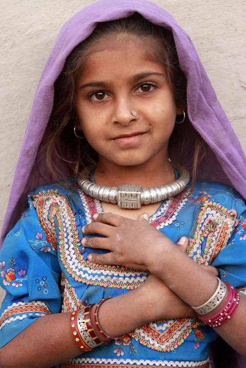 Kutch Girl - Gujarat, India