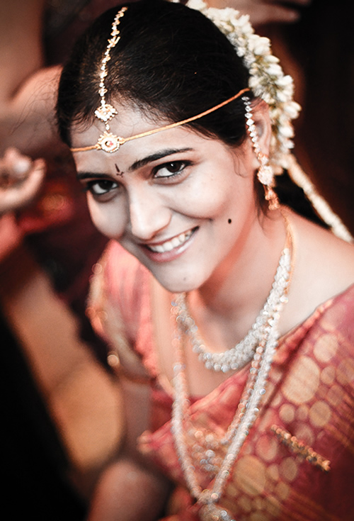 Portrait of Indian Bride - Hyderabad, India