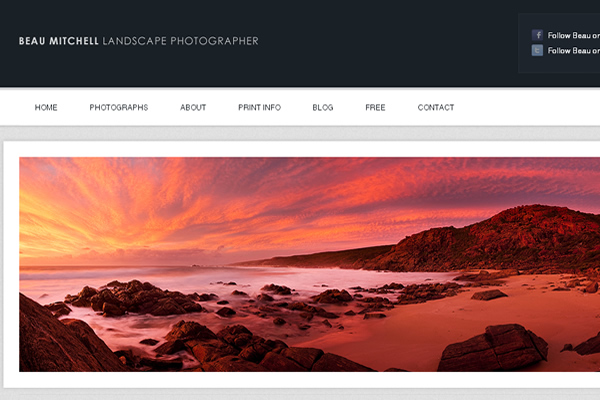 Beau Mitchell Landscape Photographer