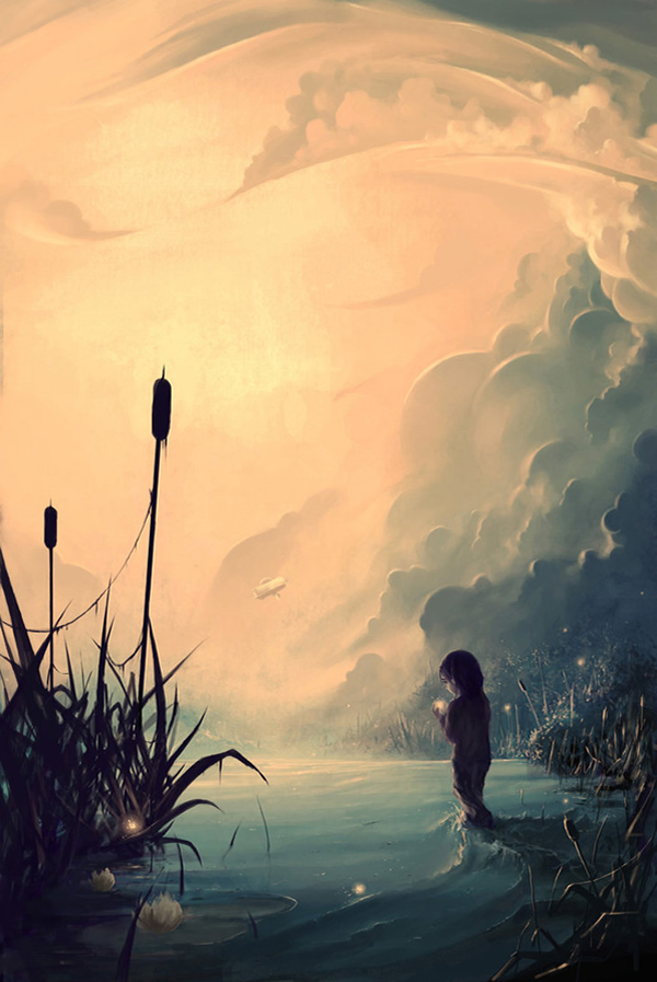 Evanescent sunrise - Digital Paintings