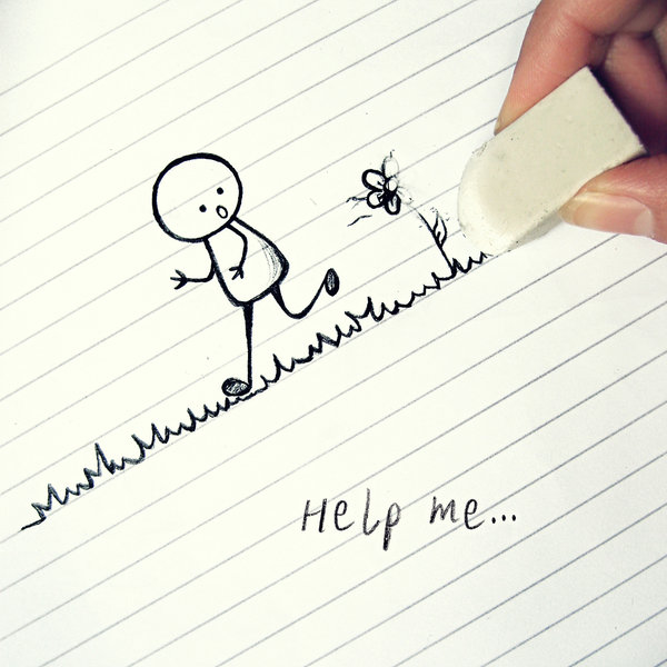 Help Me - Humorous Photography