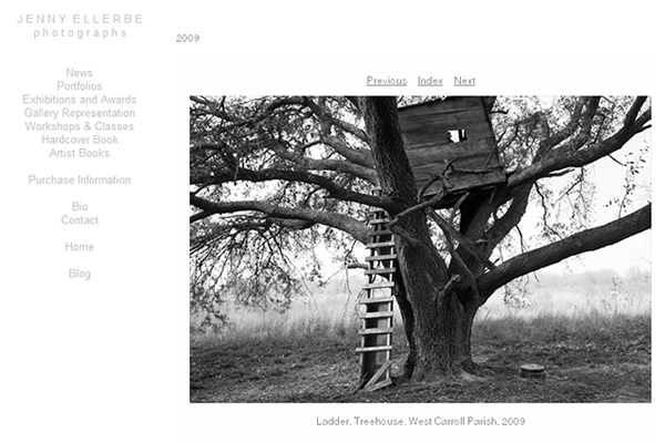 Jenny Ellerbe - Fine Art Photographers websites