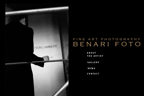 Michael Benari  - Fine Art Photographers websites