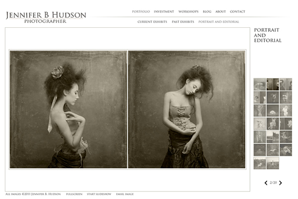 Jennifer B Hudson - Fine Art Photographers websites