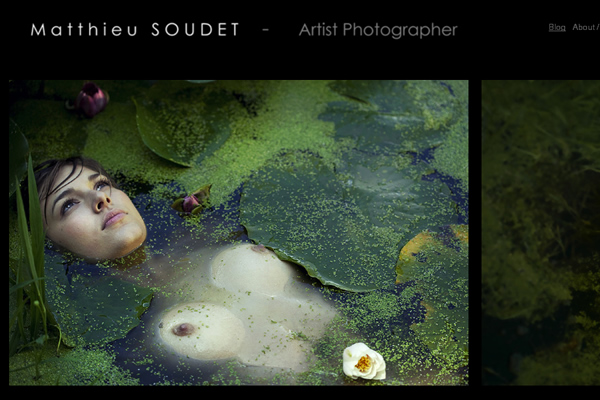 Matthieu Soudet - Fine Art Photographers websites