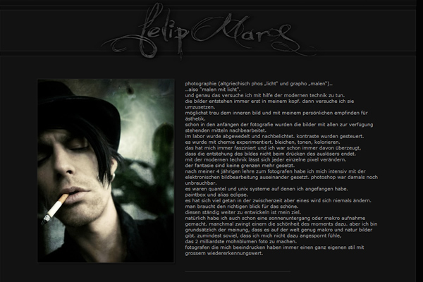 Felip Mars - Fine Art Photographers websites