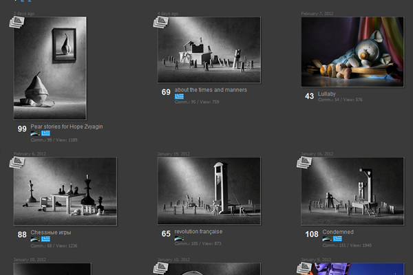 Vic Ivanov - Fine Art Photographers websites