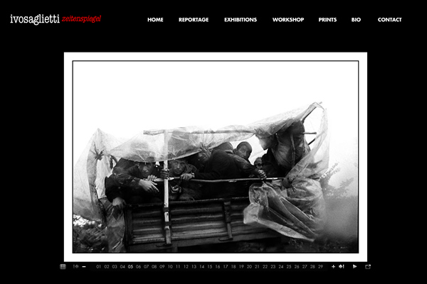 Ivo Saglietti - Documentary Photography Websites
