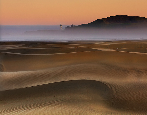 Agate Beach Sand Dunes-Oregon Coast