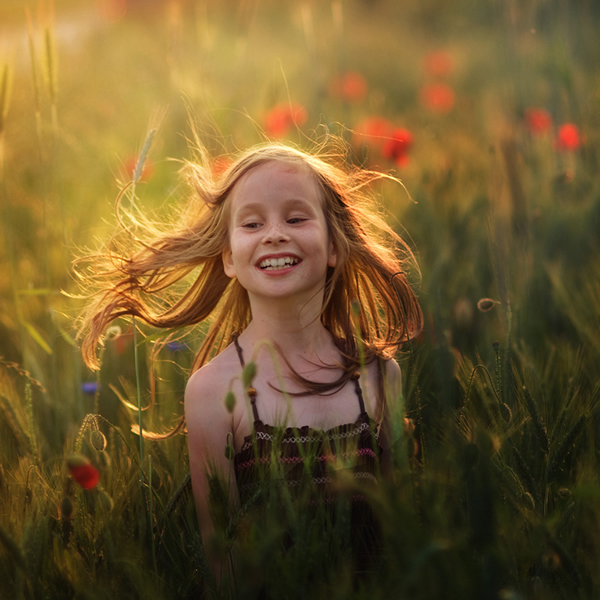 Pure Joy - Inspire with Natural Lighting in Photography