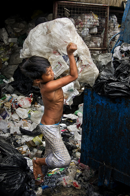Aroma, Housing Estate, Tondo - Where the garbage worth a fortune