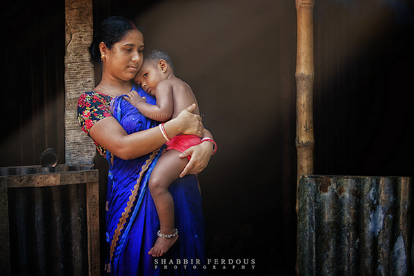 Mother and Child - Tatipara, Tangail, Bangladesh