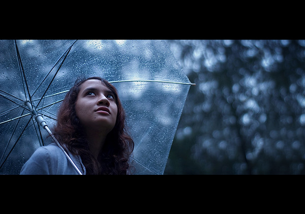 Girl with Umbrella - 35 Awesome Examples of Cinematic Photography