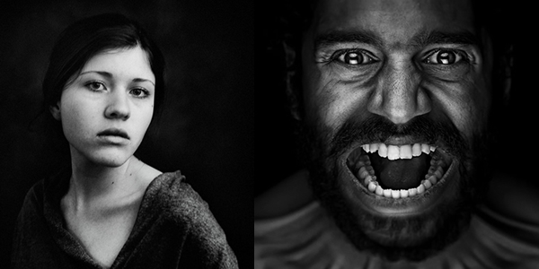 The 121 clicks photo contest black and white portrait photography