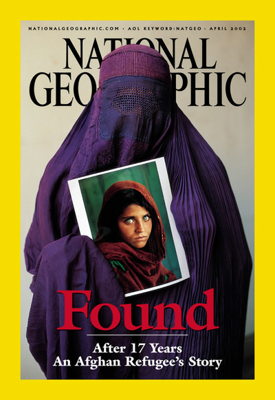 The Best of National Geographic Magazine Covers  - Found - April 2002