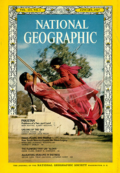 The Best of National Geographic Magazine Covers - January 1967 - Dressed for Eid al-Fitr festivities