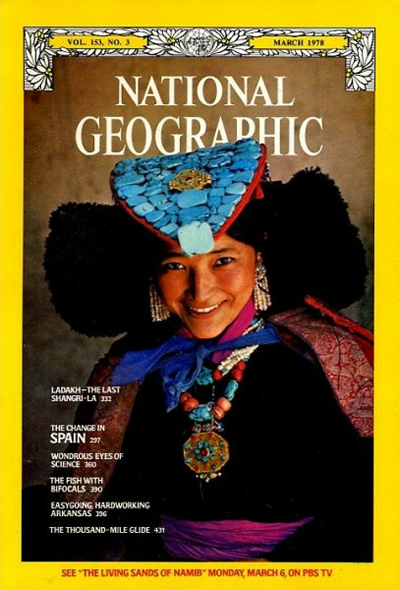 The Best of National Geographic Magazine Covers