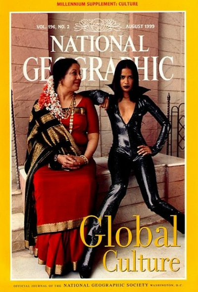 The Best of National Geographic Magazine Covers  - August 1999—Global Culture