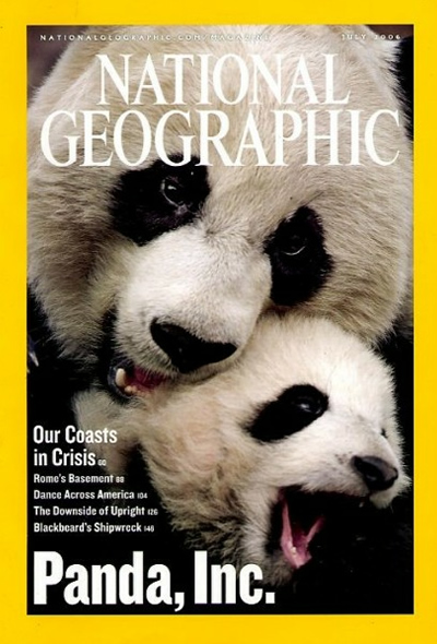 The Best of National Geographic Magazine Covers  - July 2006 - Panda, Inc.