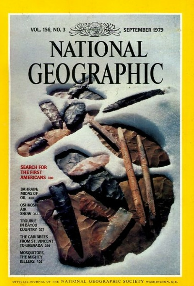 The Best of National Geographic Magazine Covers  - September 1979 - Search for the First Americans
