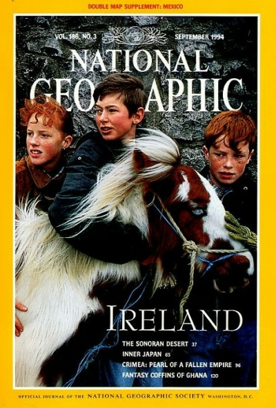 The Best of National Geographic Magazine Covers  - September 1994 - Ireland