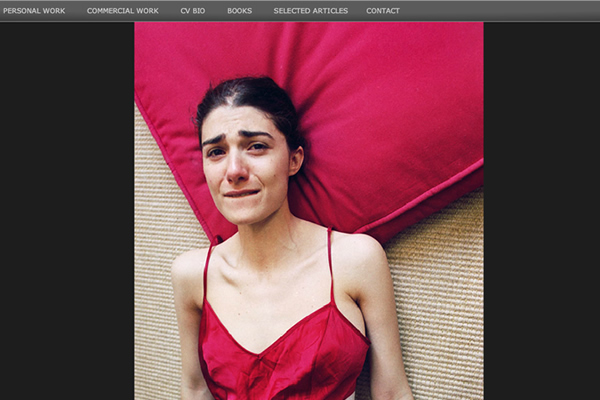 Elinor Carucci - Self Portrait Photographers - A Collection of Portfolio Websites