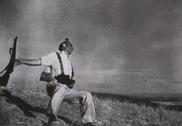 Loyalist Militiaman at the Moment of Death by Robert Capa