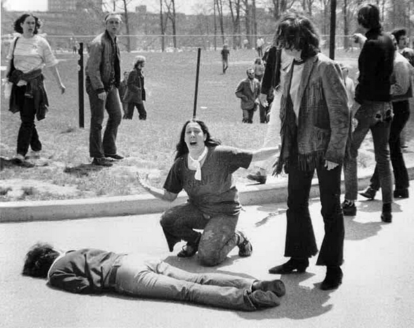 Kent State Massacre by John Filo