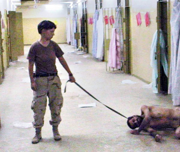 Torture and prisoner abuse by Abu Ghraib