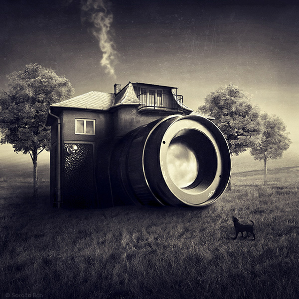Creative Photo Manipulations by Sarolta Bán