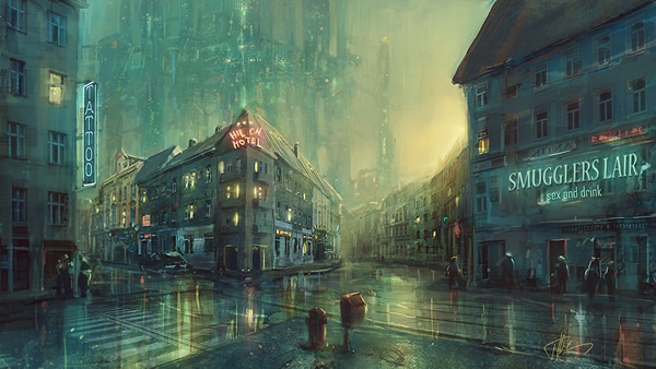 A near future - 25 Truly Amazing Digital Paintings