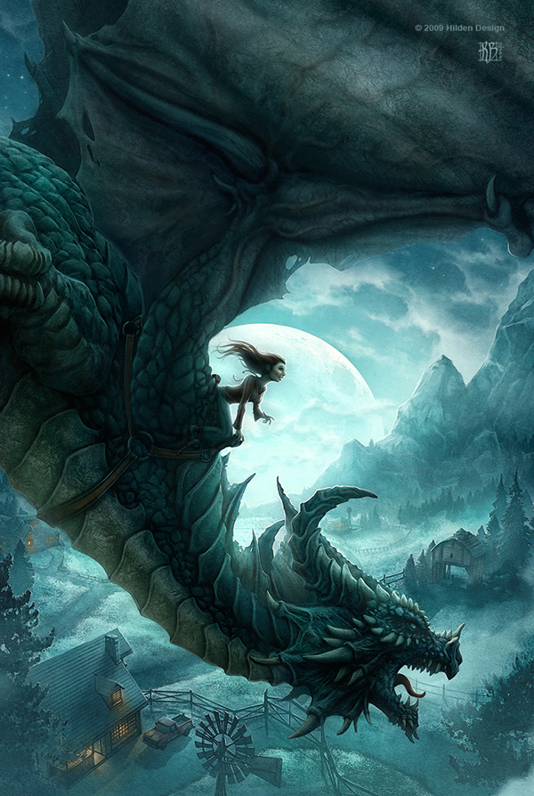 The Dragons of Ordinary Farm - 25 Truly Amazing Digital Paintings