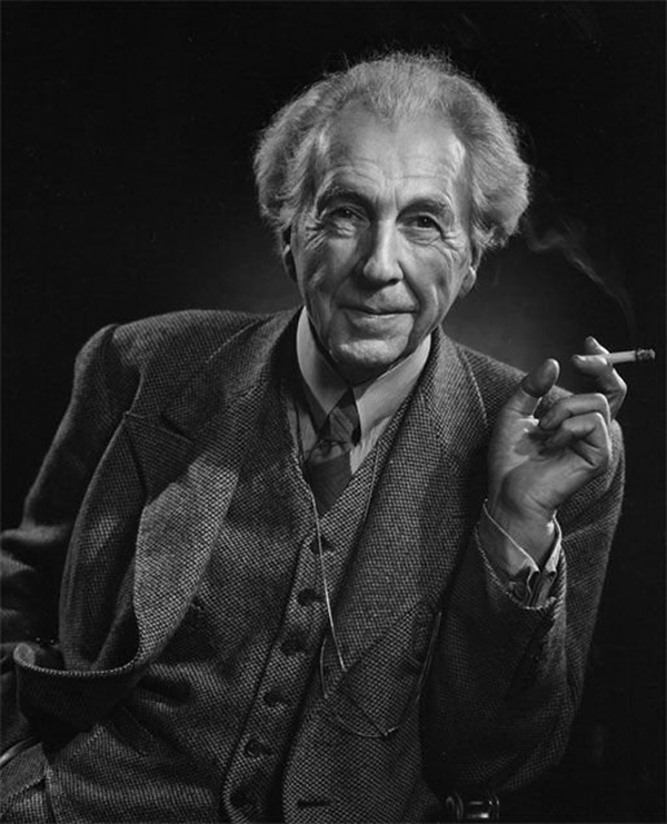 Frank Lloyd Wright - Portraits by Yousuf Karsh