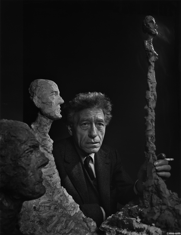 Alberto Giacometti - Portraits by Yousuf Karsh