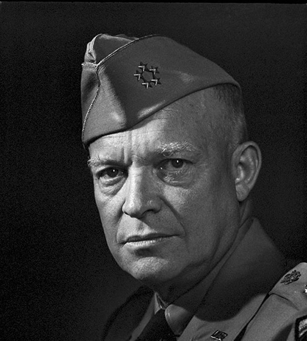General Dwight Eisenhower - Portraits by Yousuf Karsh