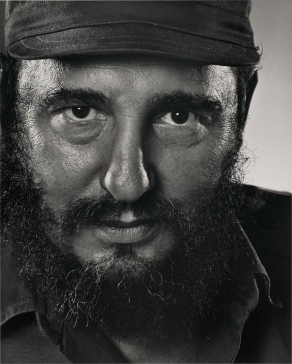 Fidel Castro - Portraits by Yousuf Karsh