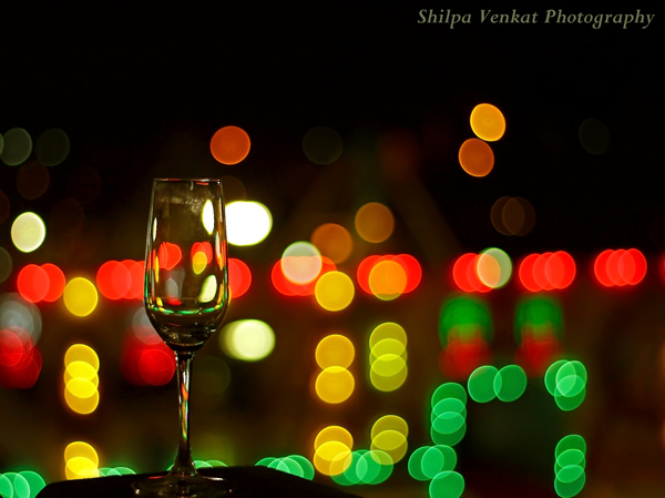 Outdoor bokeh shoots are best