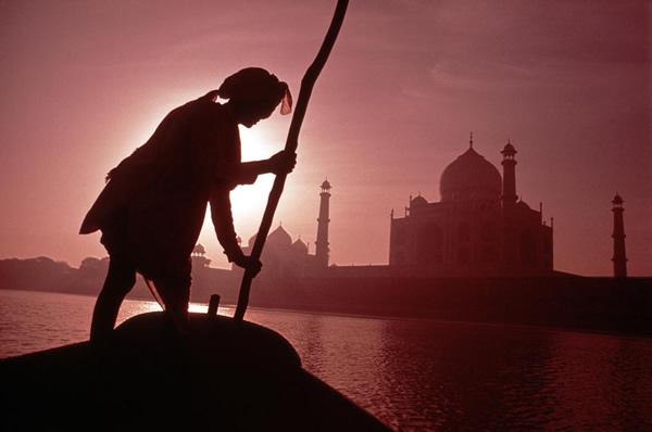 Taj Mahal by Burt Glinn