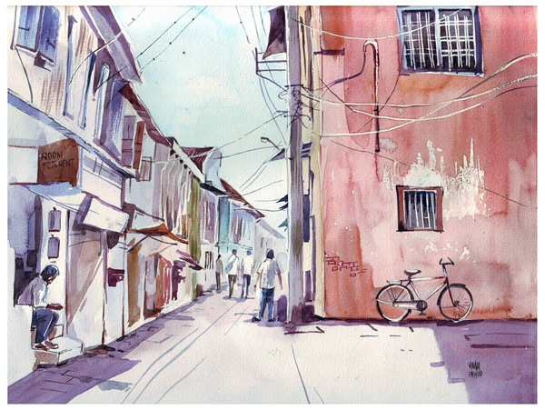Street Diary - 30 Inspirational Examples of Traditional Paintings