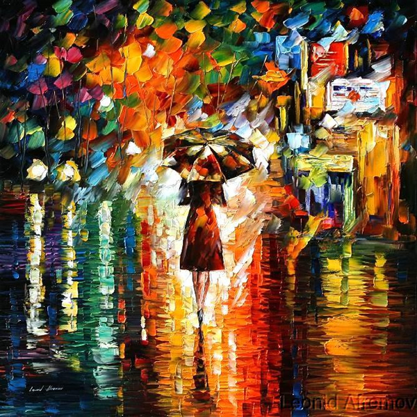 Rain Princess - 30 Inspirational Examples of Traditional Paintings
