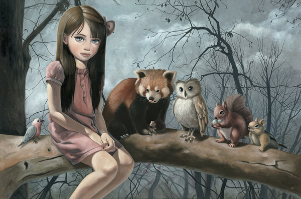 Critters - 30 Inspirational Examples of Traditional Paintings