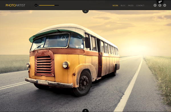 PhotoArtist - Photography WordPress Theme