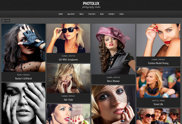 Photolux Photography WordPress Responsive Theme