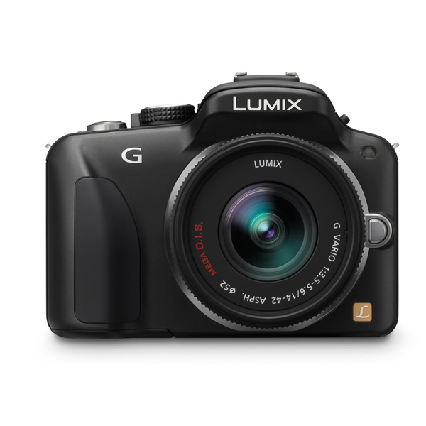 Panasonic 16 MP Digital SLR with Touchscreen