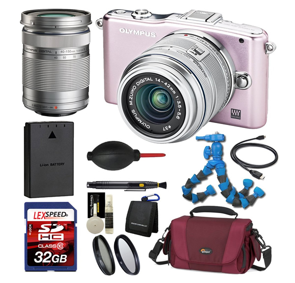 Olympus PEN Mini E-PM1 12.3 MP Digital Camera kit with 14-42mm II Lens